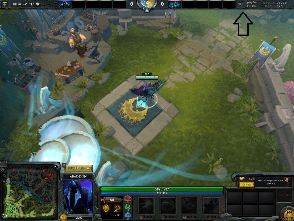 how to enable ping and fps in dota 2 reborn techfuzz